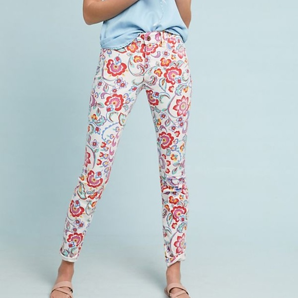 Anthropologie Pilcro Mid Rise Skinny Ankle Jeans NWT
